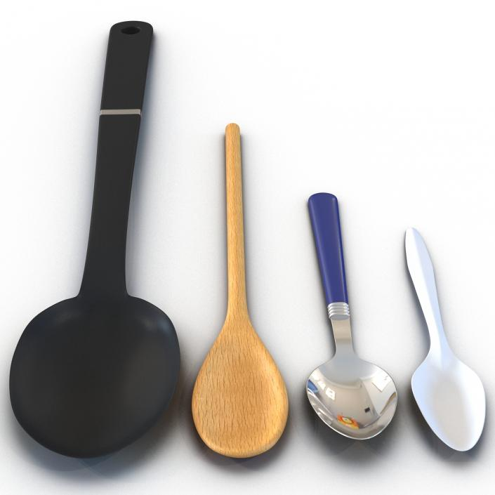 Spoons Collection 3D