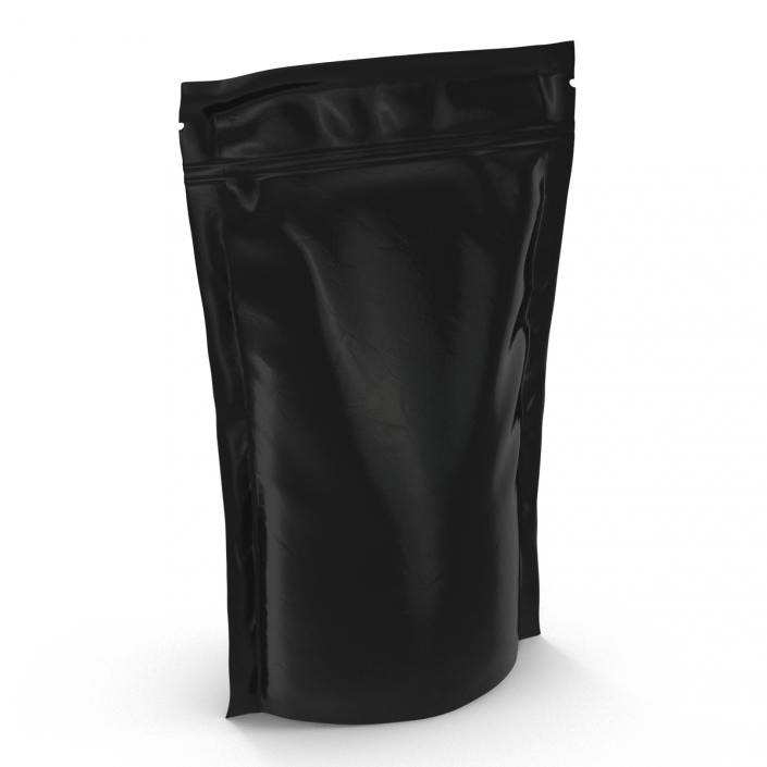 3D Food Vacuum Sealed Bag Black model