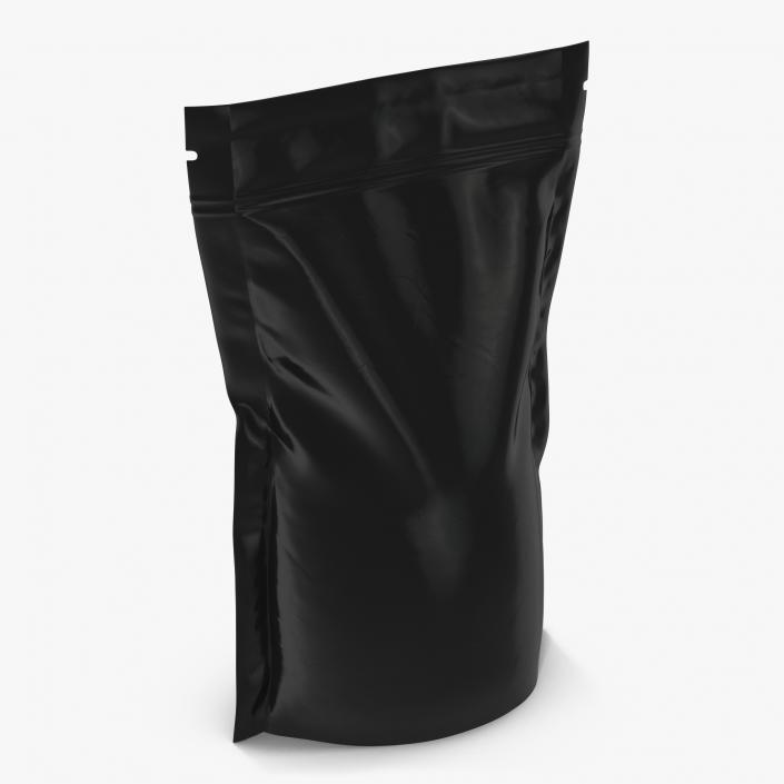 3D model Food Vacuum Sealed Bag 2 Black | 3D Molier International