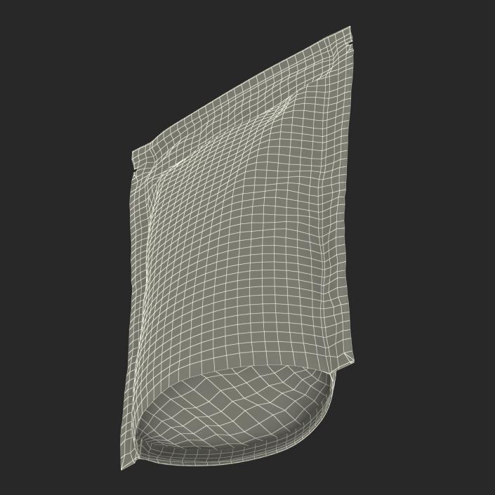 Food Vacuum Sealed Bag 3D