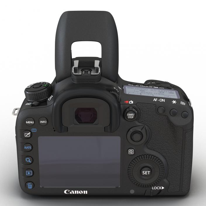 3D model Canon EOS 7D Mark II