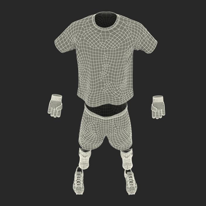 Soccer Gear Collection 2 3D model