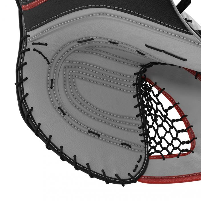 Hockey Goalie Catcher Glove Reebok 3D model