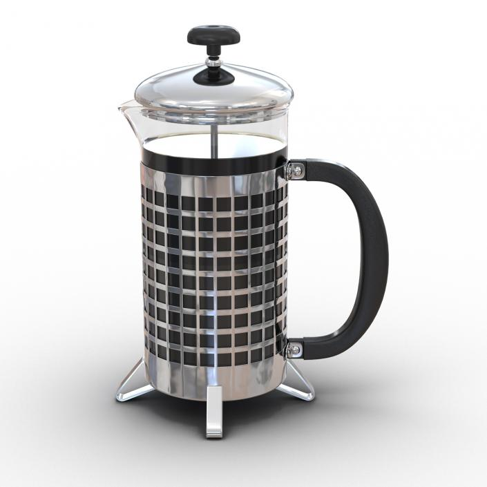 French Press 3D