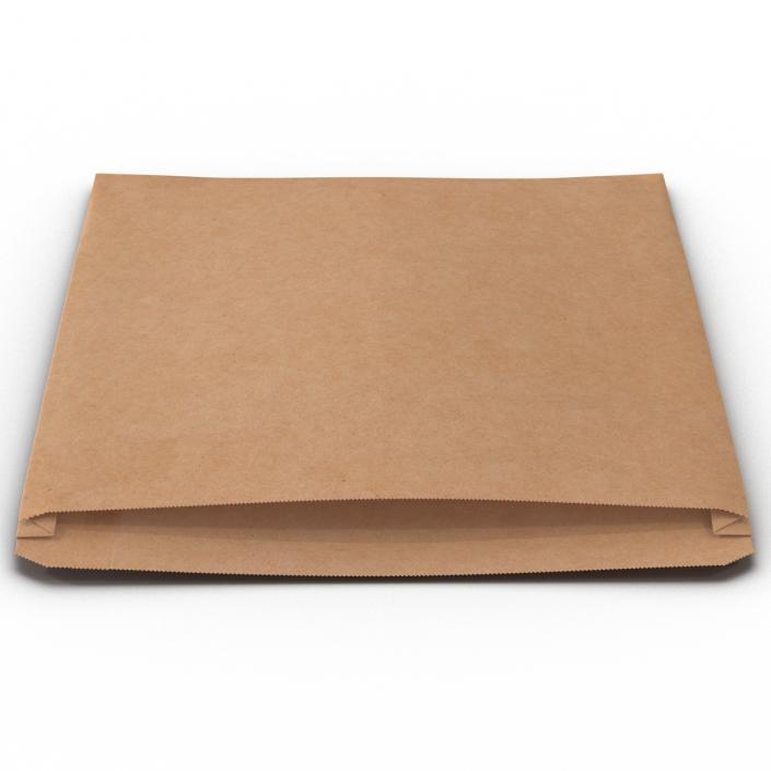 3D Bakery Paper Bag 2 model