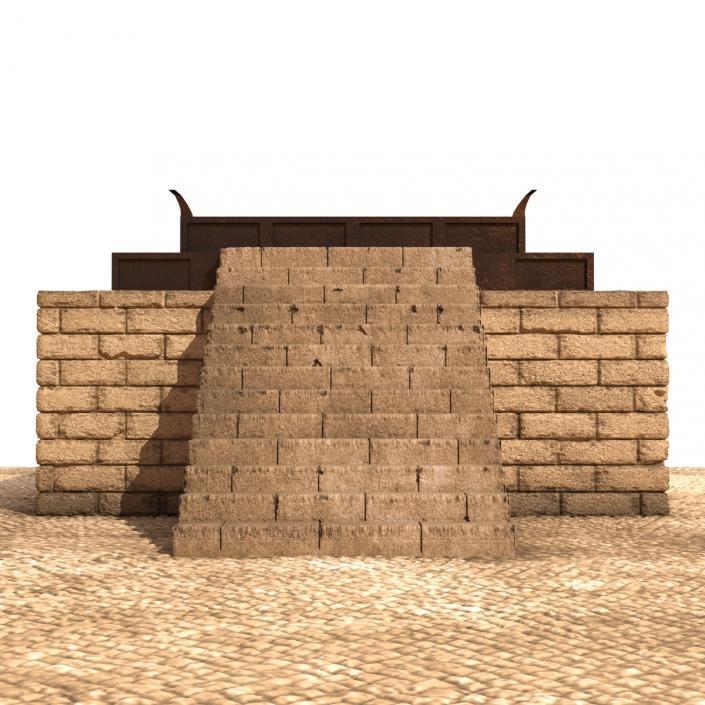 3D model Solomons Temple