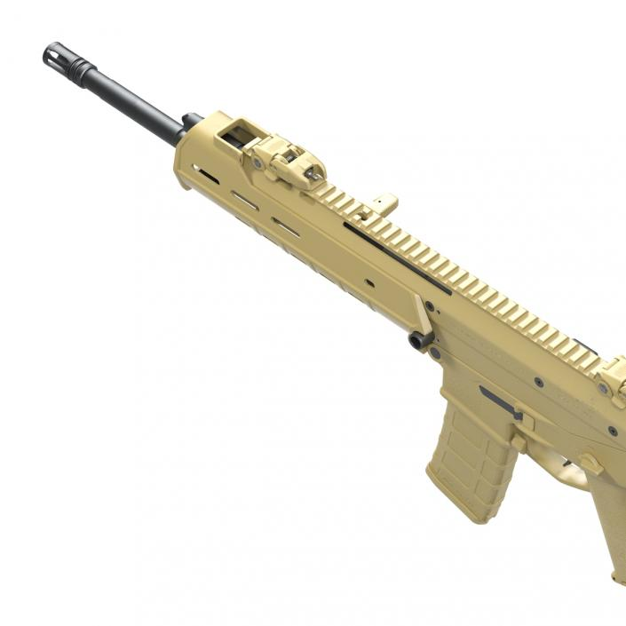 Adaptive Combat Rifle Bushmaster ACR Coyote Brown 3D model | 3D