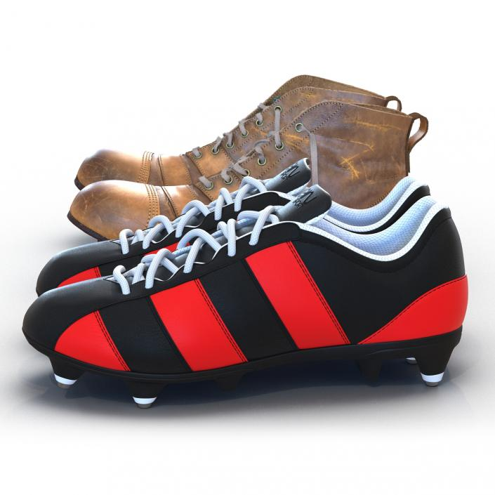 3D model Football Boots Collection