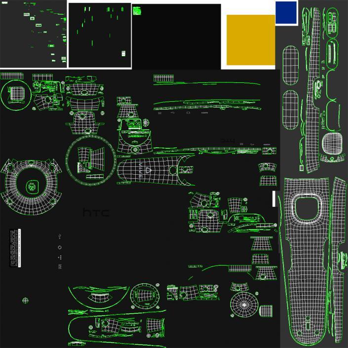 HTC Vive Controller 3D model