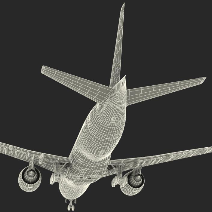 Boeing 777-200 Generic 3D