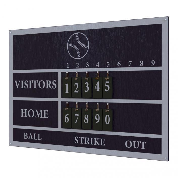 3D Baseball Scoreboard 2
