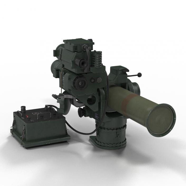 3D BGM-71 TOW Missile model