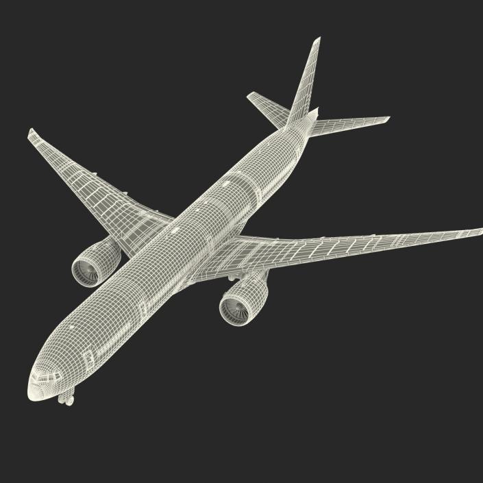 Boeing 777-300ER Generic 3D model