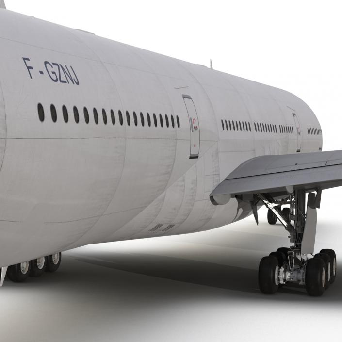 Boeing 777-200ER Generic 3D model