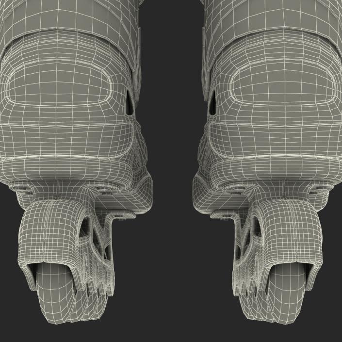 Rollerblades 2 3D model