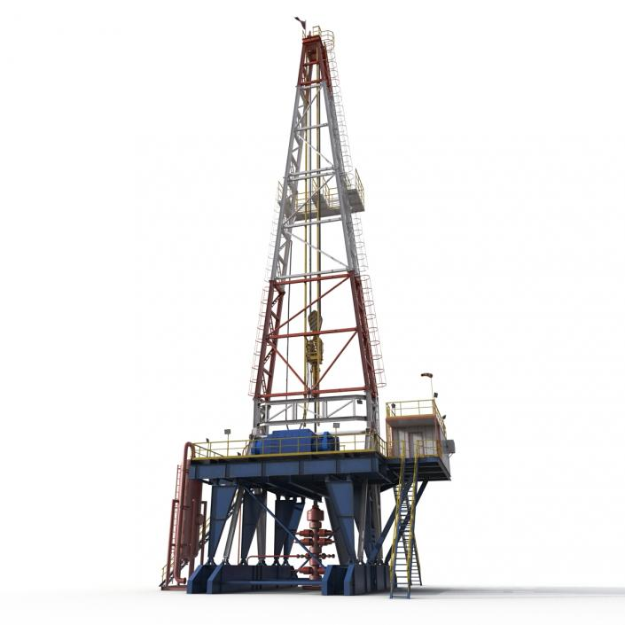 3D Fracking Gas Platform