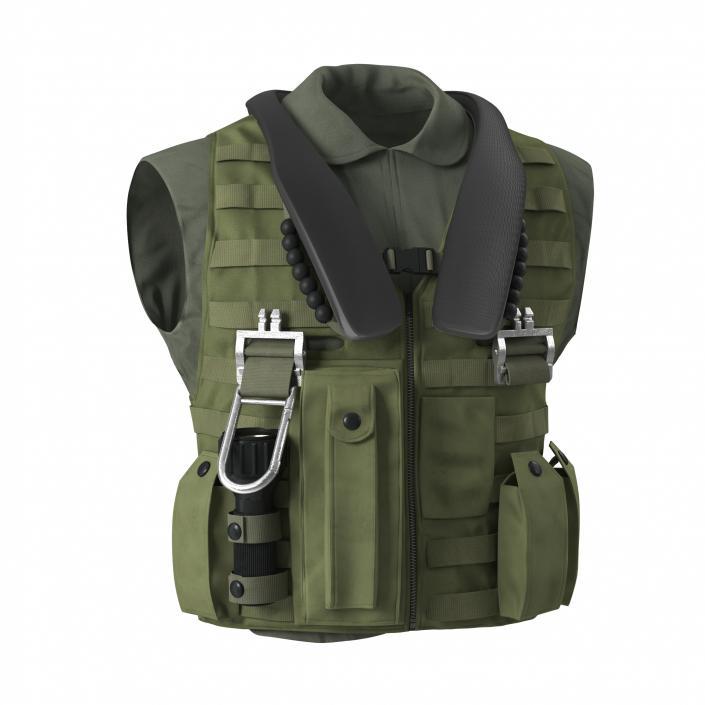 3D US Military Vest