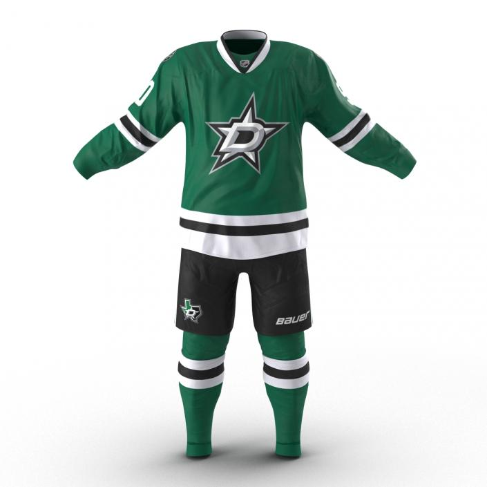Hockey Clothes Dallas Stars 3D