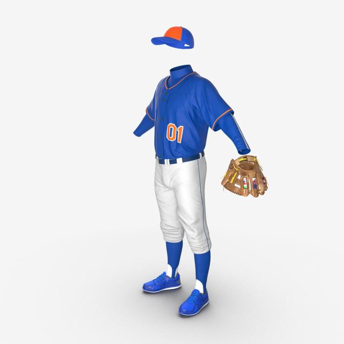Baseball Player Outfit Generic 6 3D