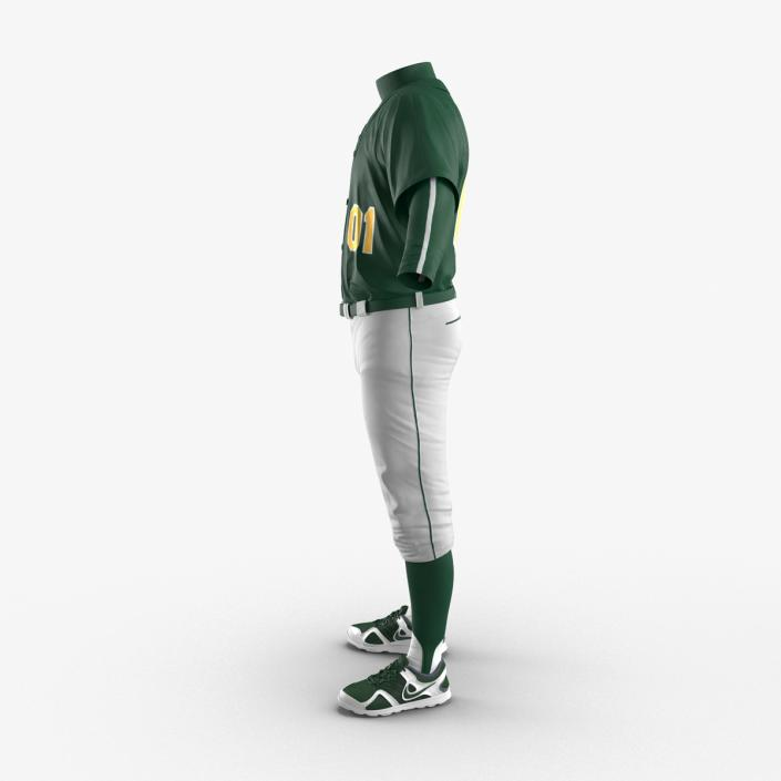 Baseball Player Outfit Generic 3 3D