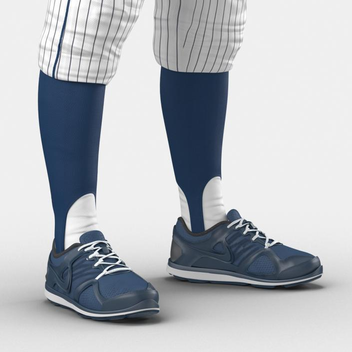 Baseball Player Outfit Generic 8 3D