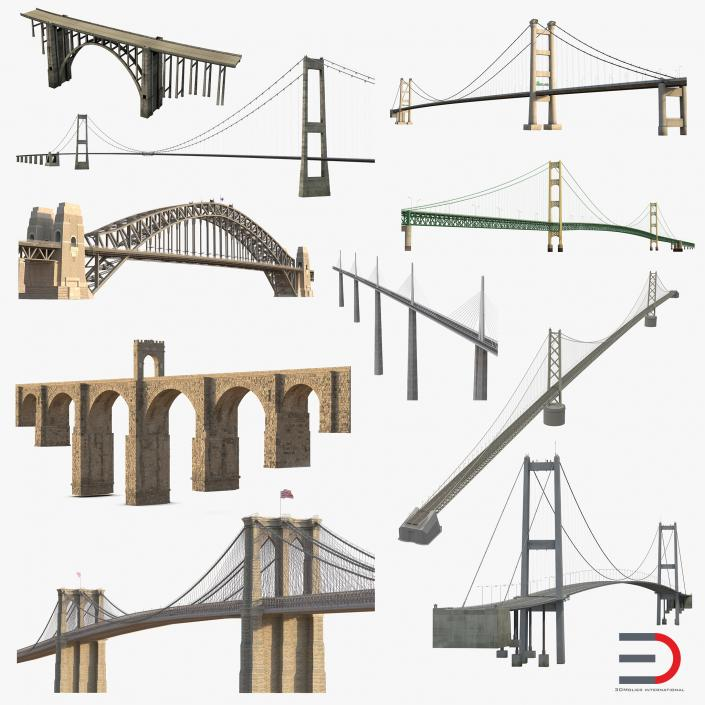 3D model Bridges Collection 4