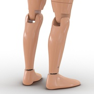 Male Crash Test Dummy Rigged for Cinema 4D. Preview 37