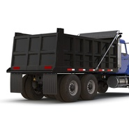 Dump Truck Mack Rigged. Preview 43