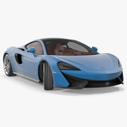 Supercar McLaren 570GT 2017. Preview 1