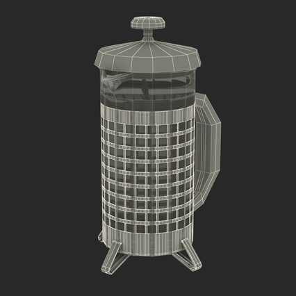 French Press. Render 4