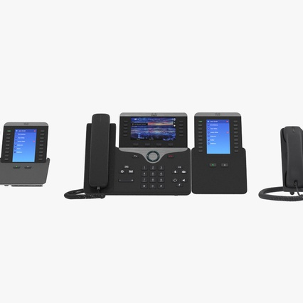 Cisco IP Phones Collection 6. Render 8