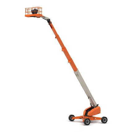 Telescopic Boom Lift Generic 4 Pose 2. Render 6
