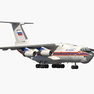 Ilyushin Il-76 Emergency Russian Air Force Rigged. Preview 3
