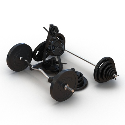 Barbells Collection 2. Render 10