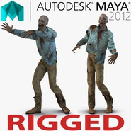 Zombie Rigged for Maya