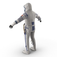 Russian Space Suit Sokol KV2 Rigged. Preview 14