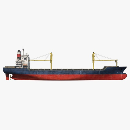 Sea Cargo Ship Generic. Render 1