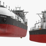 Gas Carrier Ship. Preview 9