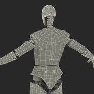 Male Crash Test Dummy Rigged for Cinema 4D. Preview 47