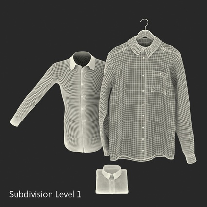 Shirts Collection. Render 30