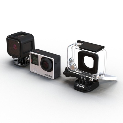 GoPro Collection. Render 8