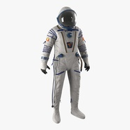 Russian Space Suit Sokol KV2 Rigged. Preview 1