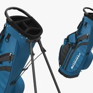 Golf Bag Seahawks with Clubs. Preview 12