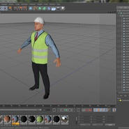 Construction Architect in Yellow Safety Jacket. Preview 22