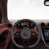 Sports Car McLaren 570GT 2017 Simple Interior. Preview 16