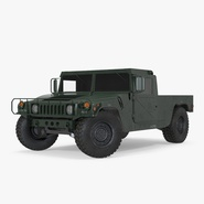 HMMWV M998 Rigged