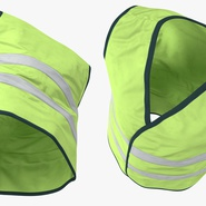 Yellow High Visibility Safety Jacket. Preview 7