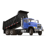 Dump Truck Mack Rigged. Preview 8