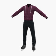 Male Figure Skater Costume. Preview 3