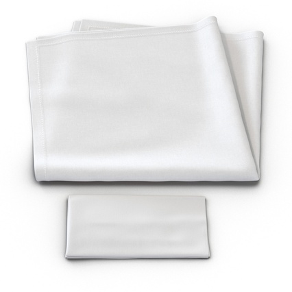 Napkins Collection. Render 12